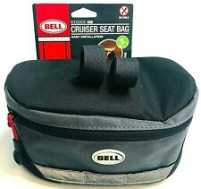 NEW Bell Rucksack 400 Cruiser Black Gray Bicycle Bag Weather Resistant Durable