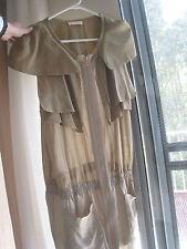 Like new Sass n Bide silk zip dress