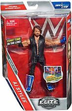 WWE ELITE COLLECTION SERIES #47 A AJ STYLES ACTION FIGURE WRESTLING TOY VEST
