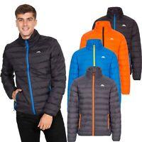 Trespass Howat Mens Packaway Jacket Lightweight Puffer Coat With Hood