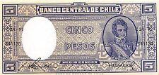 Chile  5  Pesos  ND. 1958  Series C24-95 Uncirculated Banknote SA416