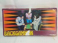 Retro Ingham Day - Vintage Backgammon Board Game - 1970's -