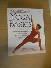 Yoga Basics by Mara Carrico (1997, Paperback, Illustrated, First Edition)
