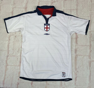 Vintage England Football Shirt 2003 Mens Medium