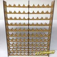TTCombat - MPRVAL100 - Vallejo / Warpaint MEGA Paint Rack 100