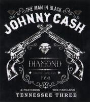 Diamond Supply Co X Johnny Cash - Tennesse Three Skateboard Sticker guitar new