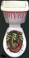 Halloween Horror Toilette Decorazione-Verde Monster