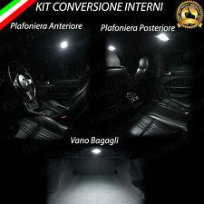 KIT FULL LED INTERNI ALFA 159 PLAFONIERA ANTERIORE + POSTERIORE + BAGAGLIAIO