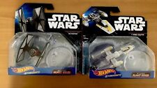 Hot Wheels Star Wars Starships Tie Fighter and Y-Wing. New