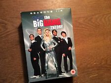 The Big Bang Theory - Season 1 2 3 4 [ 12 DVD Box]UK RC2