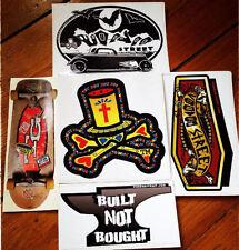 Paquete de pegatinas oscuras y peligrosas, Hot Rod, Camper, Skate, pátina, VW, goth, Tatuaje
