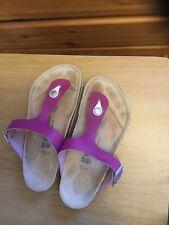 Birkenstock Size 5 (37) Colour Purple , Pre Owned