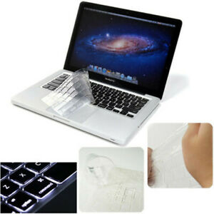 "Copritastiera TRASPARENTE silicone per MacBook Pro 13"" A1706/A1989/A2159/A1707"