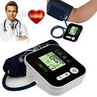 Digital Electronic Blood Pressure Monitor Upper Arm Automatic Heart Rate Monitor