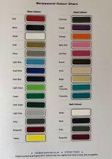 Stripeworld Colour Chart - vinyl stripes for Car Caravan Boat Horse Box Wall Art