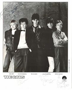The Cars signed autographed 8x10 photo! AMCo! 14854