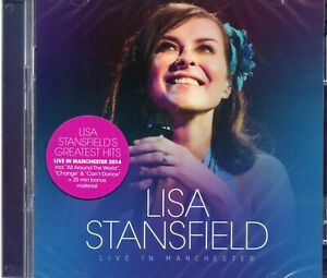 Lisa Stansfield - Live In Manchester (2 x CD) Bridgewater Hall 2014 (New Sealed)