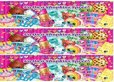 Shopkins edible cake strip wrap arounds