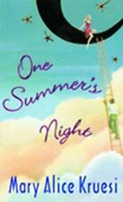 One Summer's Night Kruesi, Mary Alice Mass Market Paperback
