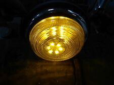 Landrover Series 1 80 86 107 LED Combined Indicator Sidelight Amber/White Bulbs