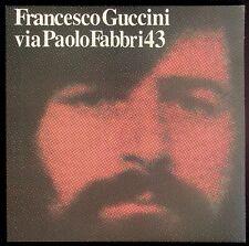 Francesco Guccini - Via Paolo Fabbri 43 - EDITORIALE - Vinile - V057015