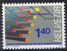 Zwitserland postfris MNH UIT/ITU 14 - Glasvezelkabel