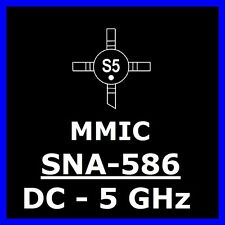 20 x sna-586 MMIC sirenza Stanford 50 Ohm dc-5ghz, 5v High Gain ip3 32db