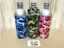 2001 A Bathing Ape x Pepsi Empty Cans Bottle complete set With Sticker Bape
