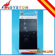 PANTALLA COMPLETA PARA HUAWEI ASCEND P8 LITE LCD + TACTIL BLANCO BLANCA