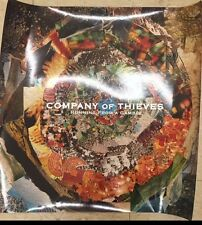 "Company of Thieves Promotional Poster Approx 24"" By 24"" Running from a Gamble"
