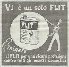 W4719 Vi è un solo FLIT - Pubblicità del 1934 - Vintage advertising