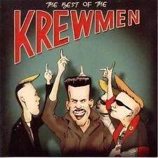 THE KREWMEN - Best of The Krewmen CD - NEW - psychobilly - rockabilly