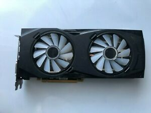 XFX AMD Radeon RX 580 GTR  8GB GDDR5for parts not working (crashes in games)