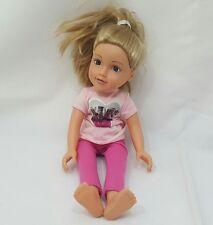 Une belle Chad Valley 18 in (environ 45.72 cm) Designa amis poupée cheveux blonds