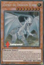 ♦Yu-Gi-Oh!♦ Esprit du Dragon Blanc (aux Yeux Bleus): LCKC-FR018 -VF/Secret Rare-