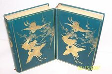 JAPAN AND HER PEOPLE Two Volume by Anna C. Hartshorne 1902 USA Hardcover NO/ DJ