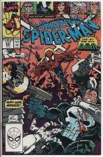 The Amazing Spider-Man #331 April '90 VF+ Punisher Venom Erik Larsen Cover