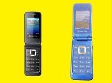 """Dual-Sim Klapphandy 2,4"""" Zoll/Bluetooth/Radio FM/MP3/Schwarz oder Pink"""