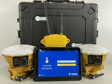 Trimble Earthworks 3d Gps Machine Control Cab Kit W Android Tablet Display Used