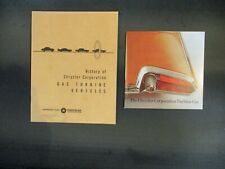 Two Chrysler publications on its gas turbine vehicles