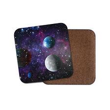 Purple Solar System Coaster - Space Planets Galaxy Sci-Fi Cool Fun Gift #13270