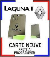 CARTE de démarrage NEUVE COMPLETE RENAULT LAGUNA II, 2 boutons à PROGRAMMER;