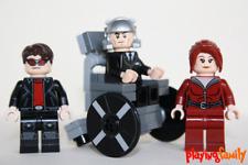 LEGO X-MEN Cyclops, Professor X, Jean - Figuren aus LEGO®-Teilen - MOC