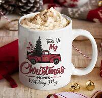 Christmas Movies Coffee Mug Xmas Gift 11oz Ceramic PERSONALIZED