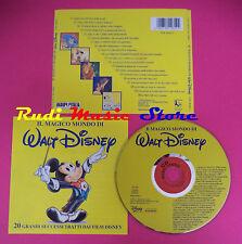 CD Il Magico Mondo Di Walt Disney 20 Grandi Successi Tratti Dai Film (C37)
