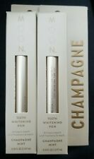 MOON Champagne Teeth Whitening Pen - Lot of 2 - champagne mint - new
