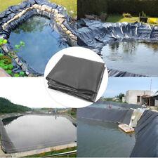 1.7M HDPE Fish Pond Liner Gardens Pool Membrane Reinforced Pools Landscaping ~