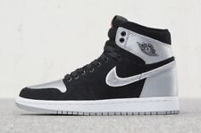 Nike Air Jordan 1 Retro High Shadow Aleali May Satin Grey OG SZ 9.5 (AJ5991-062)