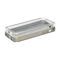 2Pack Anti-Scratch HD Clear Smoke Back Case For iPhone 5C Bumper Slim Flex Cover