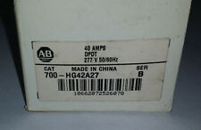 ALLEN BRADLEY 700-HG42A27 40A DPDT 277V **New in Box** Contactor
